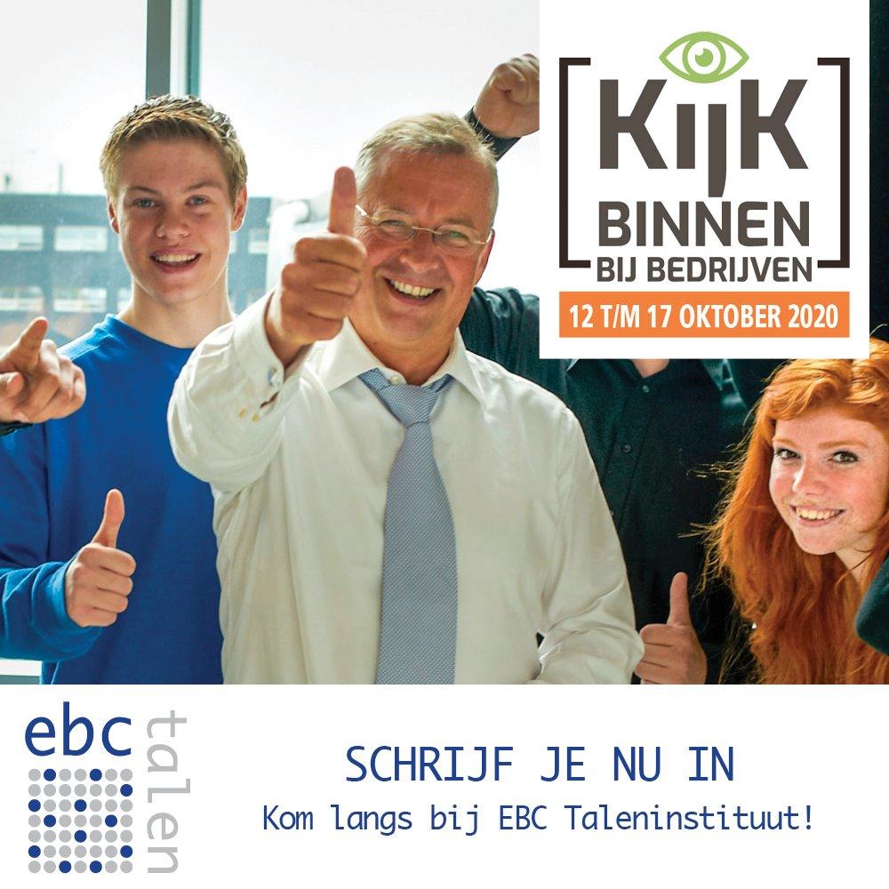 EBC Taleninstituut doet mee aan Kijk binnen bij bedrijven!