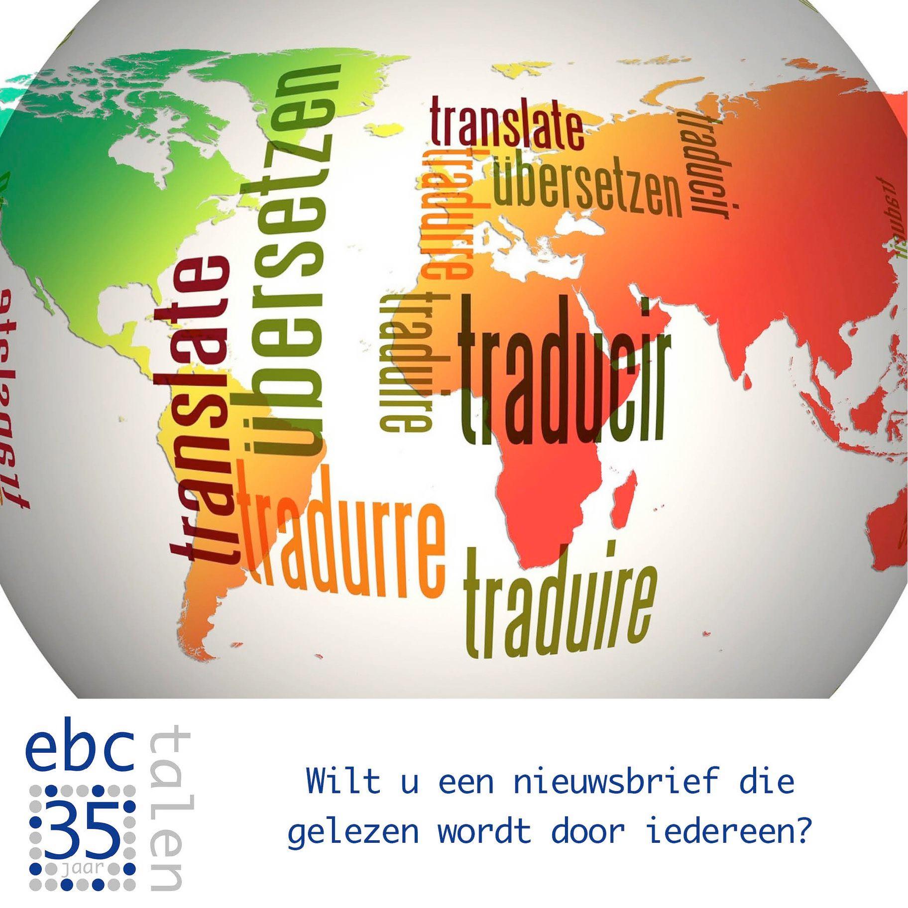 Wordt uw nieuwsbrief ook gelezen door anderstalige medewerkers en klanten?