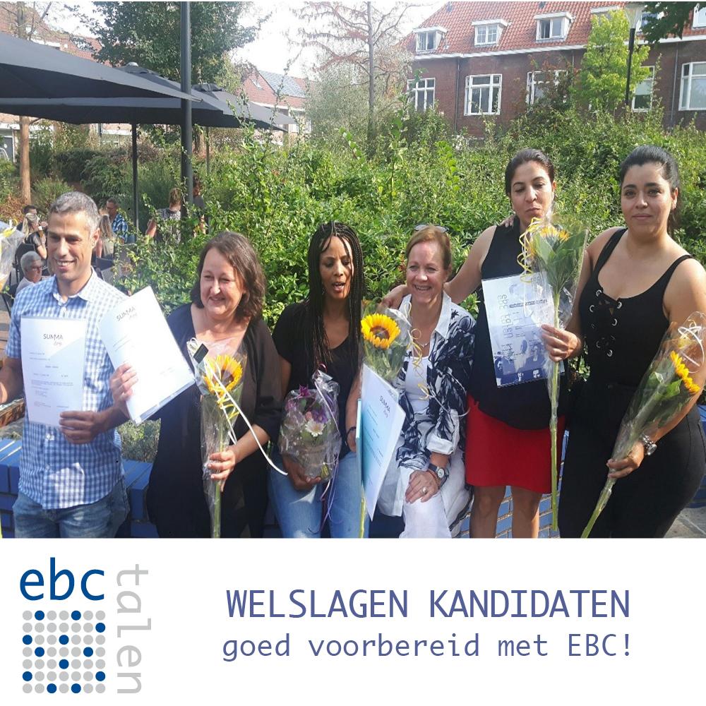 EBC is de taalaanbieder van het WelSlagen trajact!