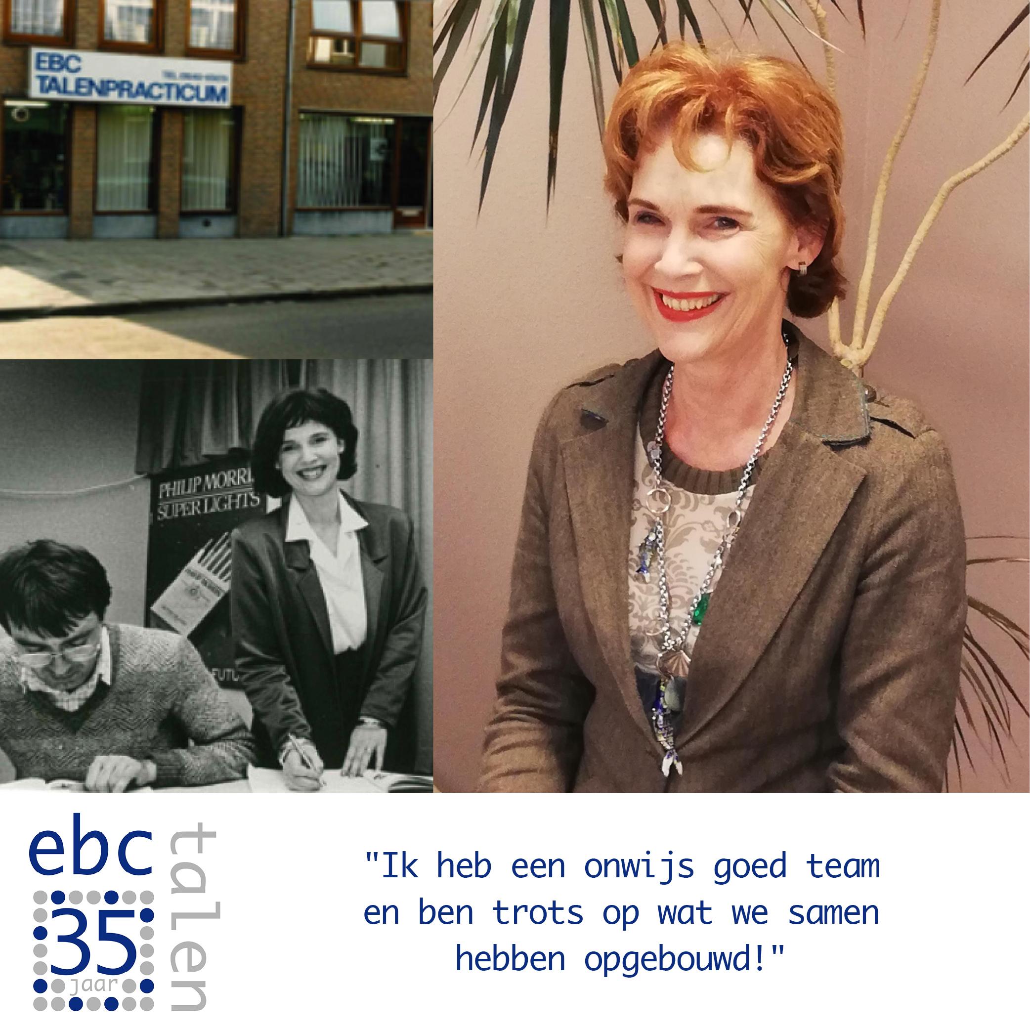 Interview met Liesbeth over 35 jaar EBC!