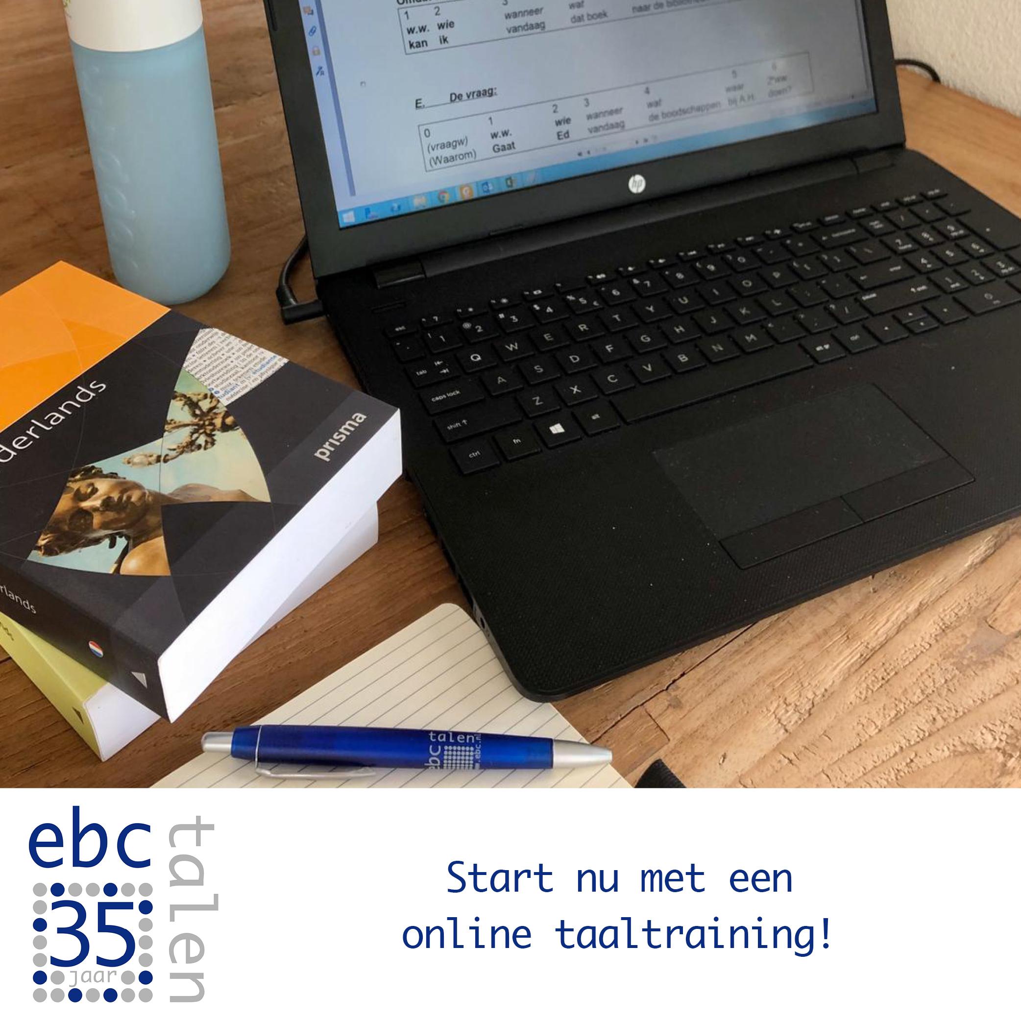 EBC Next Level Online Taaltrainingen