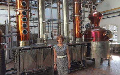Rondleiding in de distilleerderij