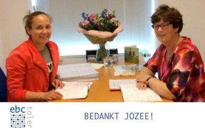 Bedankt Jozee!