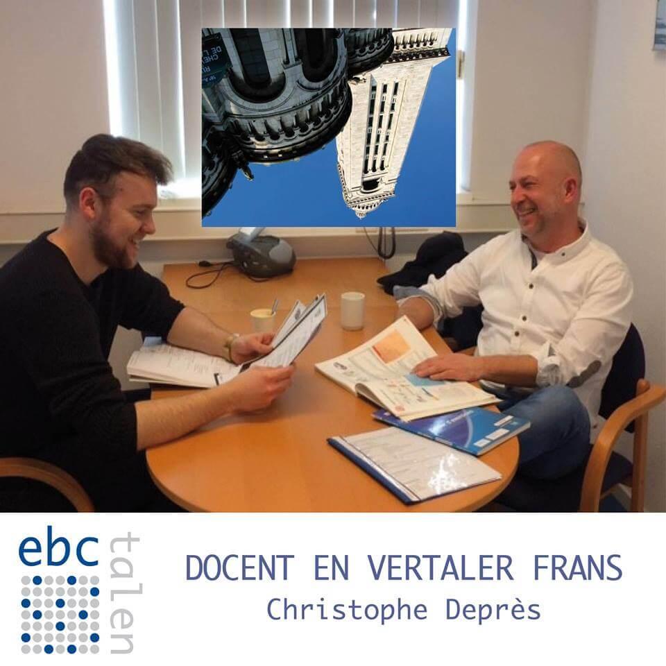 Docent en vertaler Christophe